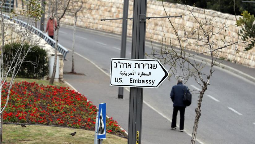 """""""El último clavo en el ataúd"""": Palestina tacha de """"asalto"""" la fusión del Consulado y la Embajada de EE.UU. en Jerusalén"""