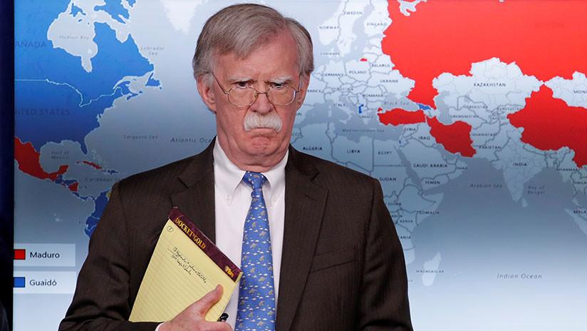 "Moscú: ""La declaración de Bolton sobre la Doctrina Monroe en relación a Venezuela insulta a toda América Latina"""