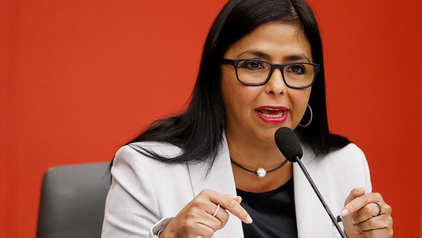 Delcy Rodríguez: Venezuela tomará las medidas apropiadas con respecto a Guaidó