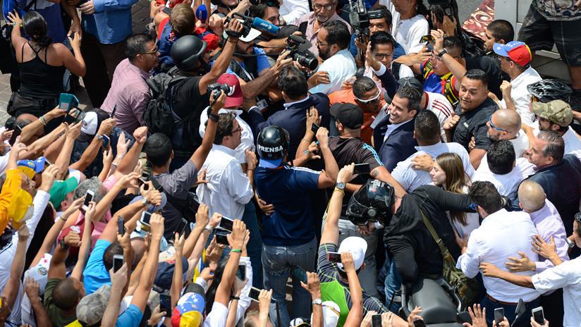 """Guaidó convoca a una """"gran movilización"""" para el próximo sábado tras su regreso a Venezuela"""