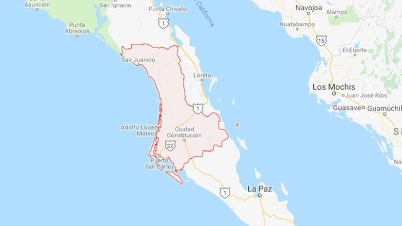 México: Cae un supuesto satélite en Baja California Sur (FOTO, VIDEO)