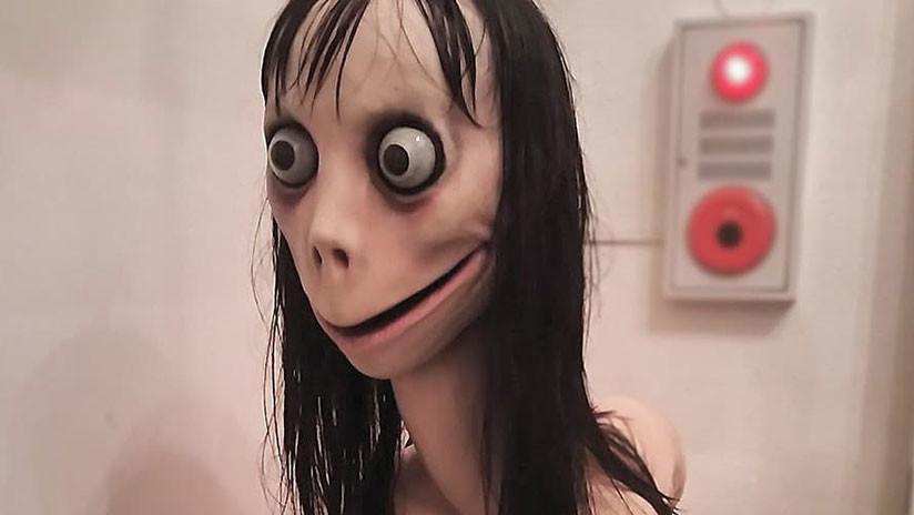 """""""Momo está muerta"""": El creador de la grotesca escultura que dio vida al juego suicida viral dice que la ha destruido"""