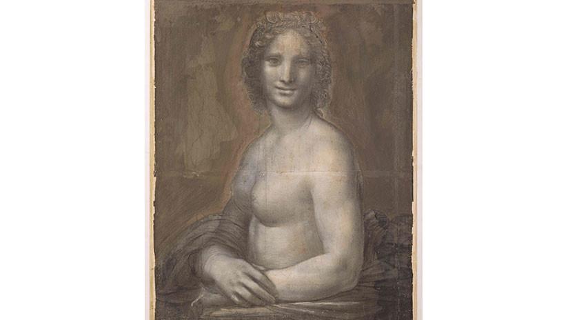 Expertos afirman que 'La Gioconda desnuda' podría ser un dibujo de Leonardo