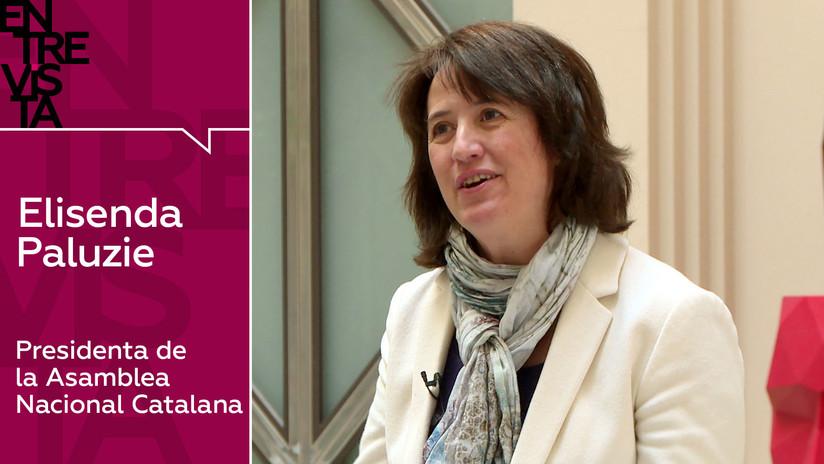 """Presidenta de la Asamblea Nacional Catalana: """"El Estado español no negocia, impone"""""""