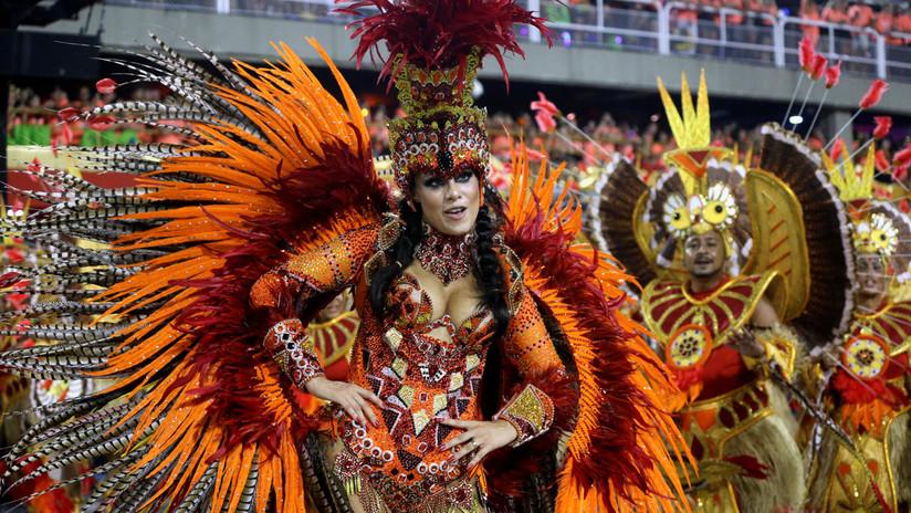 Brasil vibra al ritmo del carnaval de Río de Janeiro