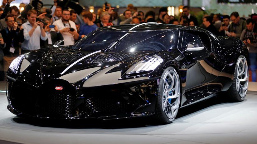 """Bugatti presenta La Voiture Noire, """"el coche nuevo más caro de la historia"""" (VIDEO, FOTOS)"""