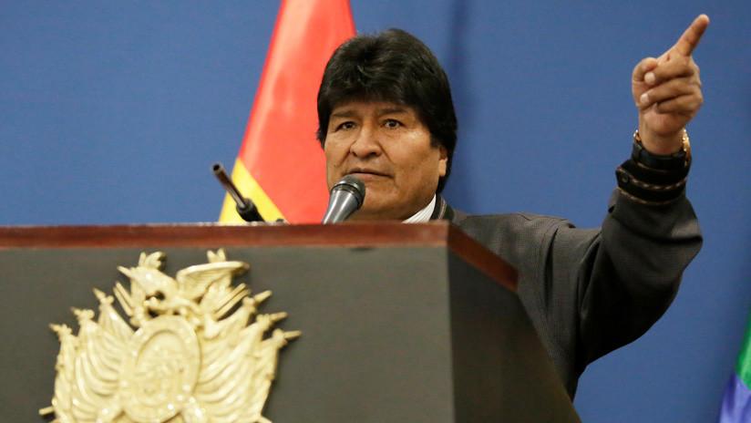 """Evo Morales afirma que el """"engaño intervencionista"""" de Trump en Venezuela ha fracasado"""