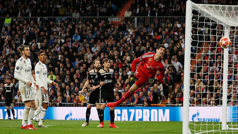 El Ajax humilla por 4-1 al Real Madrid y lo elimina de la Liga de Campeones