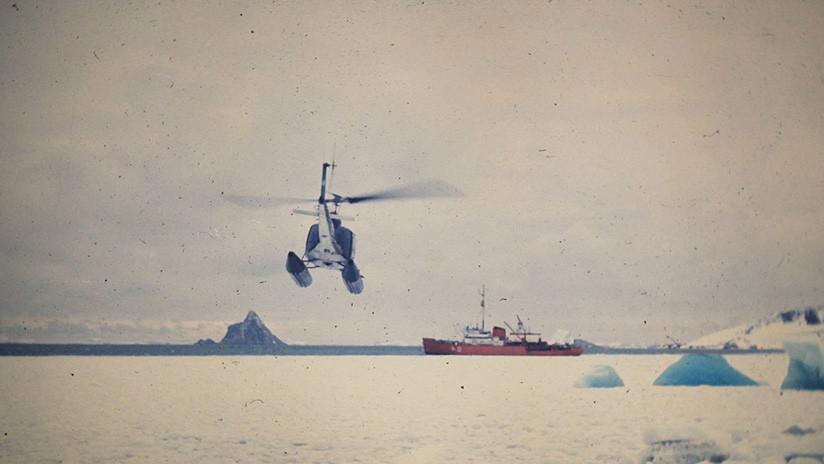 Logran medir por primera vez la 'huella' que deja el ser humano en la Antártida