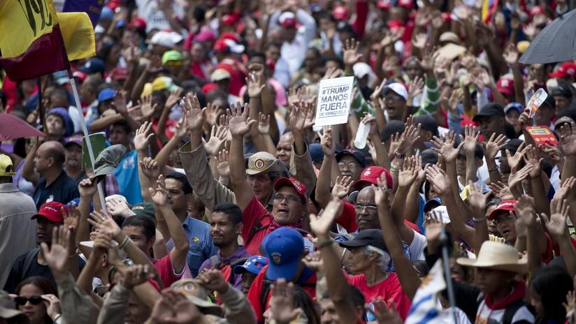 """Maduro convoca a """"marchas antimperialistas"""" para derrotar a la """"minoría alocada"""""""