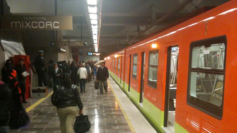 Ocho heridos por falla en las escalares eléctricas en el metro de la Ciudad de México