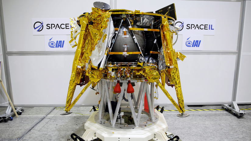 La primera sonda lunar israelí envía una selfi (con la Tierra de fondo)