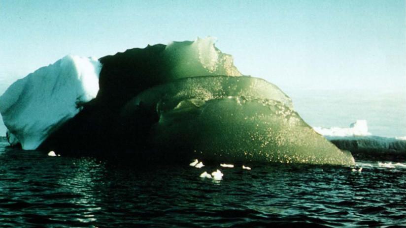 ¿Misterio resuelto?: Explican por qué hay icebergs verdes en la Antártida (VIDEO)