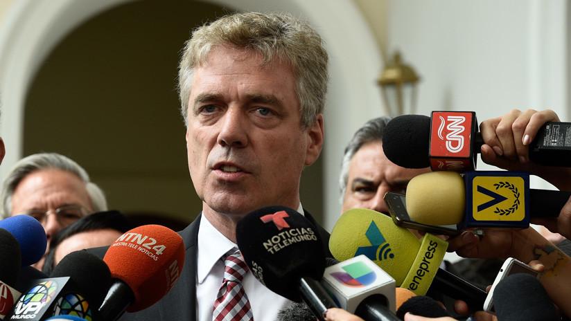 Venezuela expulsa al embajador de Alemania
