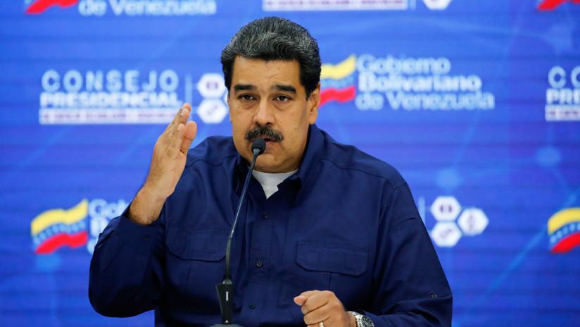 """Maduro: """"La oposición venezolana y EE.UU. no desean ayudar al país, quieren desatar la 'Guerra del Petróleo'"""""""