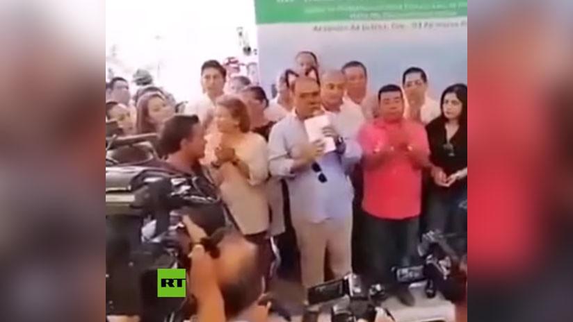 VIDEO: Gobernador mexicano aparece con 'orejas de gato' en una transmisión de Facebook