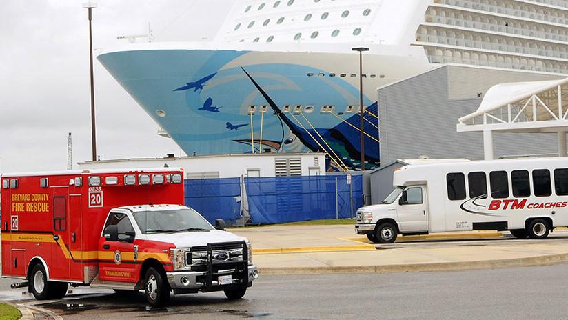 Varios heridos en un crucero que fue golpeado por vientos de casi 200 km/h rumbo a las Bahamas (FOTOS, VIDEOS)