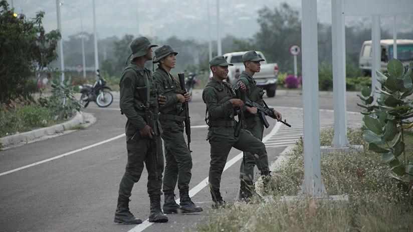 El 23 de febrero falló el ingreso de un grupo armado a Venezuela