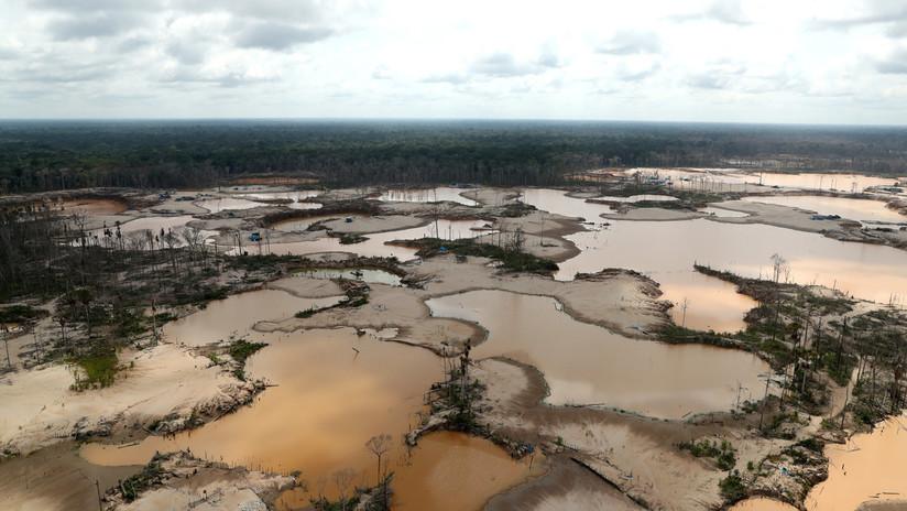 Perú, en pie de guerra contra la minería ilegal en el sur