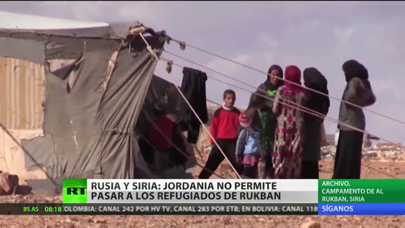 Rusia y Siria acusan a Jordania de impedir pasar a los refugiados de Rukbán