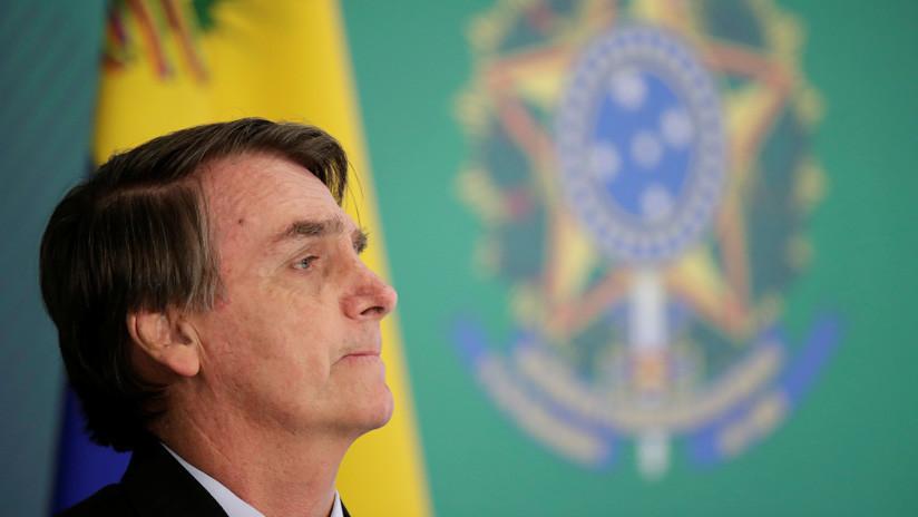 """Bolsonaro amenaza con procesar al actor que se autoproclamó """"presidente"""" de Brasil"""
