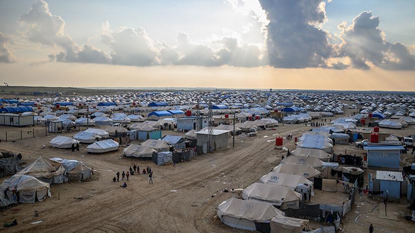 Siria: El campamento de Al Hol ya cuenta con más de 62.000 desplazados
