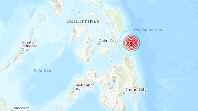 Un sismo de magnitud 6 se registra en Filipinas