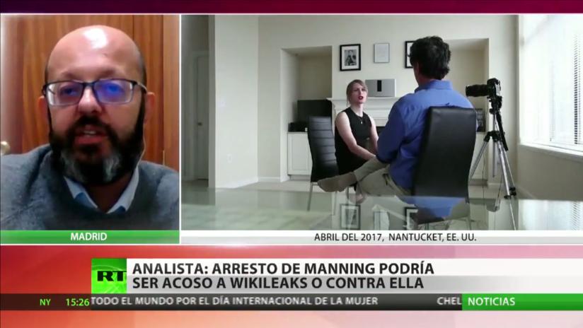Analista: El arresto de Manning es evidentemente una persecución a WikiLeaks