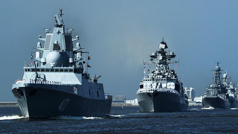 """""""Hace que sus enemigos vomiten"""": La característica de una fragata rusa que preocupa a 'The Times'"""