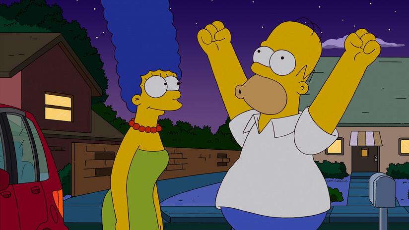 VIDEOS: Una popular escena de 'Los Simpson' se convierte en un nuevo y divertido reto viral