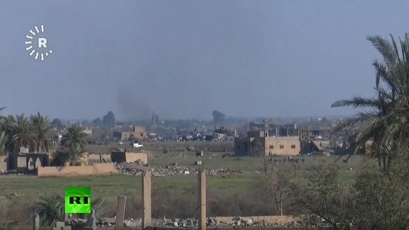 VIDEO: Fuerzas Democráticas Sirias luchan en el último bastión del Estado Islámico