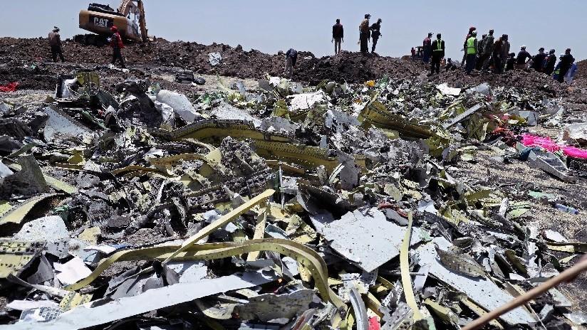"""Testigo de la tragedia en Etiopía: """"El avión emanaba humo de la parte trasera antes de estrellarse"""""""