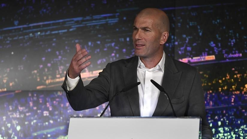 """El regreso a """"casa"""", CR7 y el futuro: Lo que abordó Zidane en su primera rueda de prensa tras su regreso al Real Madrid"""