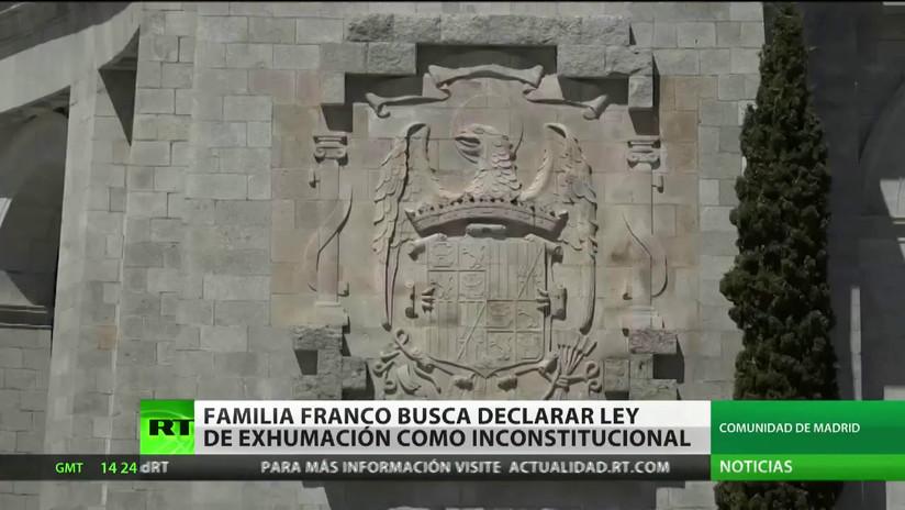 La familia del dictador Franco pretende que la ley de exhumación se declare inconstitucional