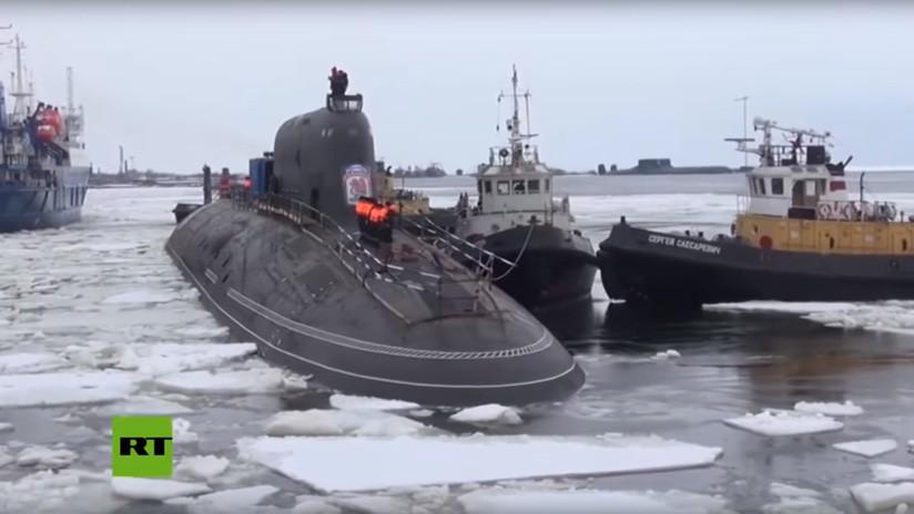 VIDEO: La Marina rusa muestra de cerca su submarino de propulsión nuclear más avanzado
