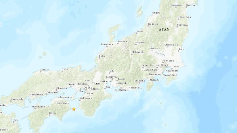 Un sismo de magnitud 5,2 se registra en el sudeste de Japón y se siente en la mitad del país