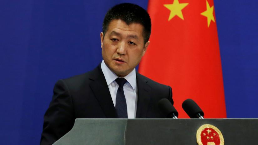 """China califica de """"irresponsables"""" las declaraciones de Pompeo respecto al mar del sudeste asiático"""