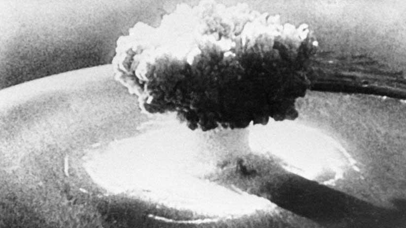 VIDEO: Difunden imágenes remasterizadas y de alta resolución de la primera explosión de la historia de una bomba atómica