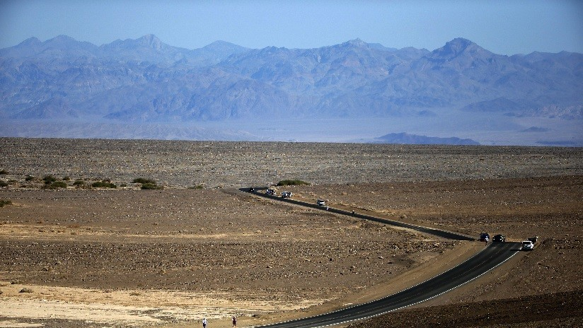 FOTO: Aparece un lago en el lugar más seco de las Américas