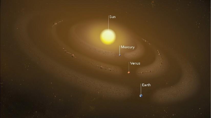 La NASA descubre un nuevo anillo de polvo cósmico en la órbita de Mercurio (VIDEO)
