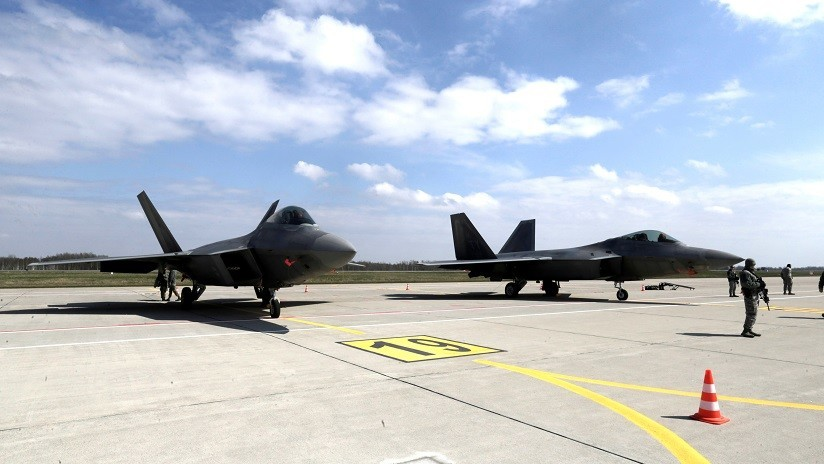 EE.UU. usaría sus cazas F-22 Raptor para atacar cualquier parte del mundo en máximo 24 horas