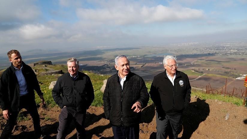 """EE.UU. cambia su terminología y a los territorios anexados por Israel no los llama """"ocupados"""" sino """"controlados"""""""