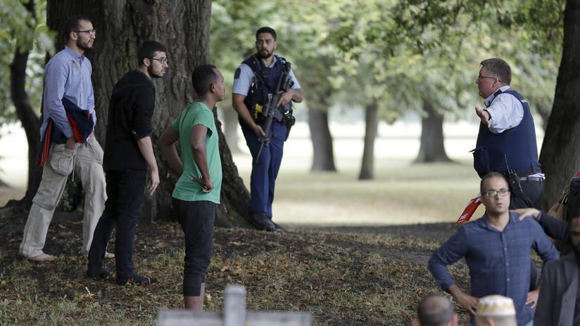 Encuentran varias bombas dentro de coches cercanos al lugar del tiroteo mortal en la localidad neozelandesa de Christchurch