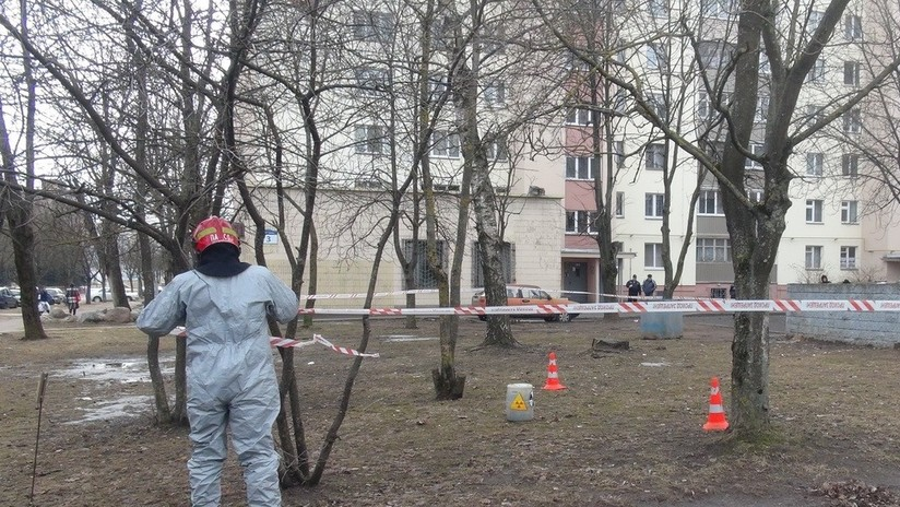 FOTOS: Arrojan desechos radioactivos en un contenedor de basura de una calle residencial