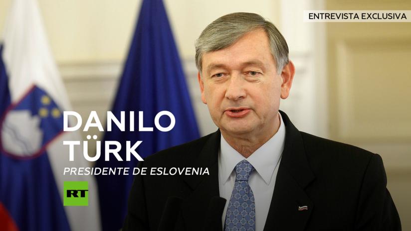 Entrevista con Danilo Türk, presidente de Eslovenia