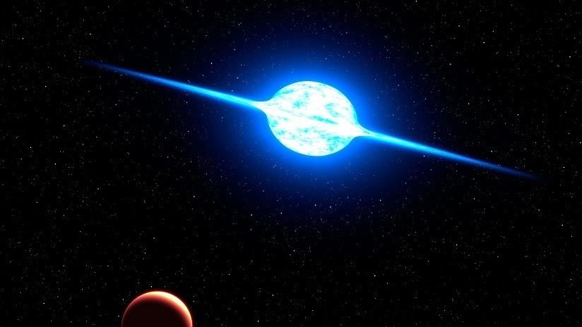 Una extraña estrella vuelve a emitir radioondas tras una década de 'silencio'