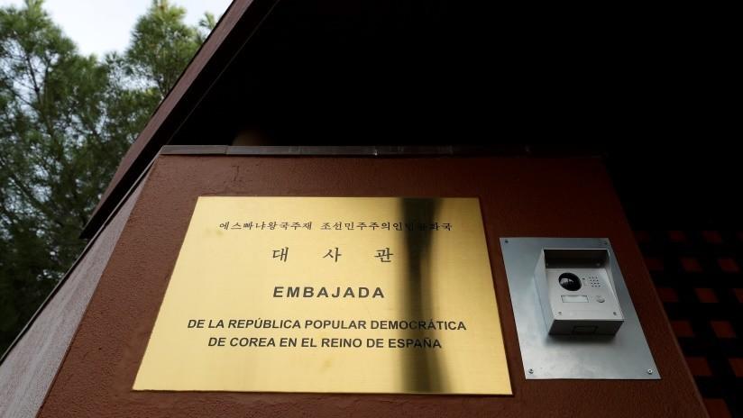 Reportan que asalto a la Embajada de Corea del Norte en Madrid fue perpetrado por un grupo disidente que intenta derrocar a Kim
