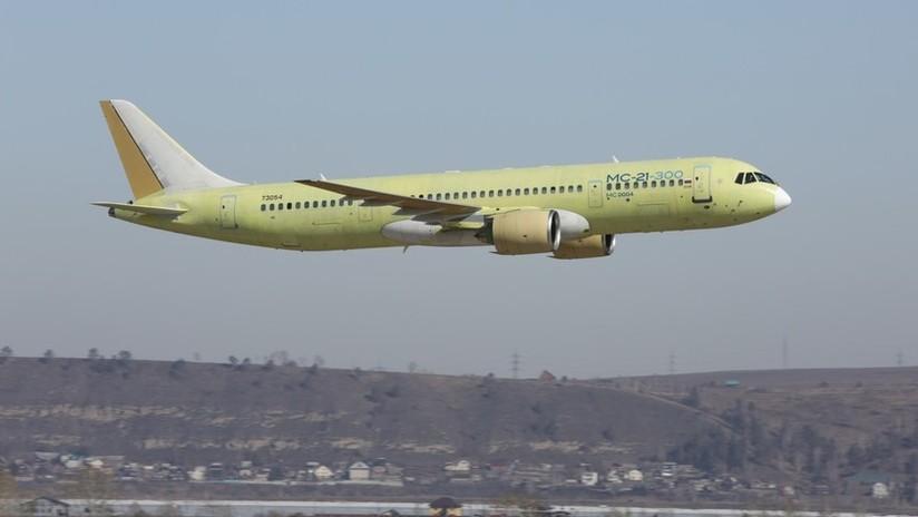 VIDEO, FOTOS: Exitoso vuelo de prueba del prometedor avión de pasajeros ruso MS-21