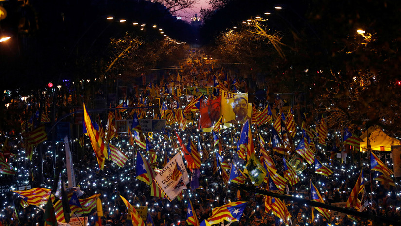 Miles de personas se manifestarán en Madrid contra el juicio de los líderes independentistas catalanes