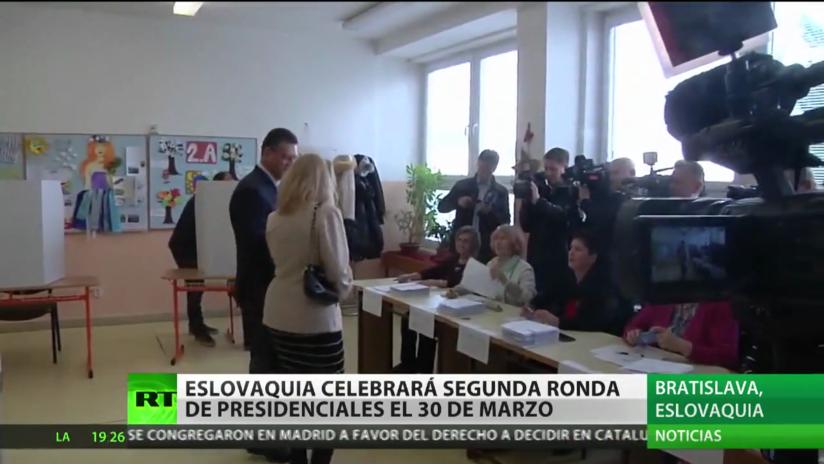 Eslovaquia celebrará la segunda vuelta de las presidenciales el 30 de marzo